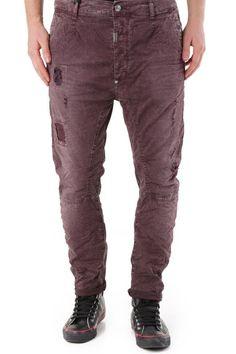 Pantaloni Uomo Absolut Joy (VI-P2598) colore Bordo