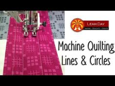 What do you think of this easy quilting design? I quilted the Basket Weave quilt with five rows of straight lines in the