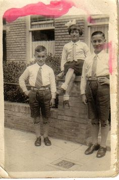My father and his brother and sister (my uncle and aunt) late 30's