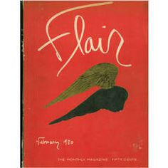 Flair Magazine Complete Set of 12 Magazines, February 1950 to January 1951