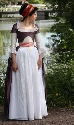 Robe a la Turque 1780s - augustintytar.blogspot.co.uk