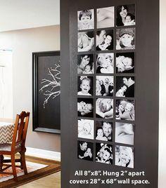 55 ausgefallene Bilderwand und Fotowand Ideen - Gallery Wall Inspirations - Pictures on Wall ideas Diy Wand, Decoration Photo, Photo Deco, Diy Wall Art, Decorating On A Budget, Stairway Decorating, Basement Decorating, Decorating Websites, Pumpkin Decorating