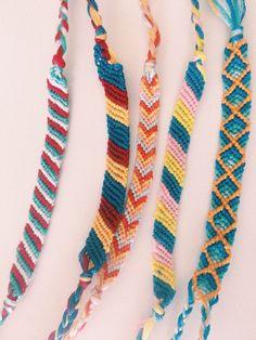 37 Beautiful Threaded Anklet Designs – Love Your Ankle Yarn Bracelets, Embroidery Bracelets, Summer Bracelets, Cute Bracelets, String Bracelets, String Bracelet Designs, Diamond Bracelets, Homemade Bracelets, Anklet Designs