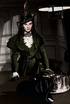 """Vivien Leigh as Emma, Lady Hamilton from the movie """"That Hamilton Woman"""", Directed by Alexander Korda. Costume design by RENÈ HUBERT. Old Hollywood Glamour, Vintage Hollywood, Hollywood Stars, Classic Hollywood, Hollywood Dress, Vintage Glamour, Vivien Leigh, Period Costumes, Movie Costumes"""