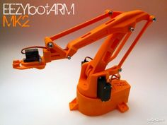 This is a 3D printed robotic Arm. It follows the success of my previous smaller one EEZYbotARM so I simply called it MK2  (make 2) It is a…