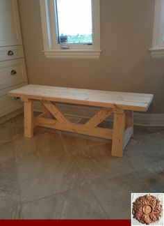 Farmhouse Bench Diy Ana White Dining Rooms 16 Ideas Farmhouse Bench Diy Ana White Dining Rooms 16 Id Diy Farmhouse Table, Farmhouse Furniture, Diy Furniture, White Farmhouse, Furniture Projects, Farmhouse Ideas, Kitchen Furniture, Farmhouse Garden, Furniture Stores