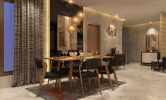 Make your dining time, scintillating! #dining #room #livspace