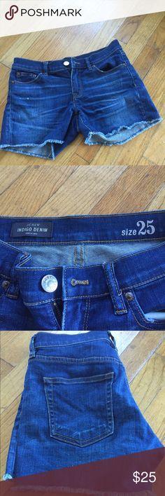Jcrew denim short Size 25 jcrew denim short in indigo wash in excellent used condition. J. Crew Shorts Jean Shorts