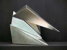 Jacek Wańkowski  CarapaceTwo 2014  stainless steel 44 x 57 x 45cm