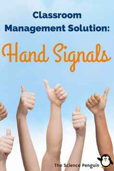Hand Signals to make your class time flow smoothly