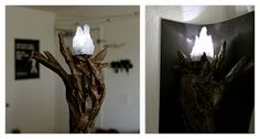 DIY gandalf the grey wizard staff Holy craft- definitely making this some day!