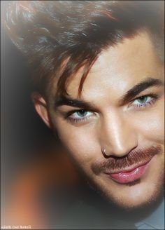 Gorgeous Adam Lambert! You keep getting better as you get older. I love the healthy look Adam.