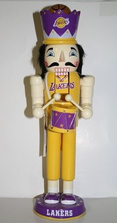 Los Angeles Lakers 2012 14 Drummer Nutcracker * This is an Amazon Affiliate link. You can find out more details at the link of the image.