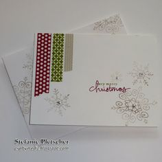 The Crafty Medic: Countdown to Christmas: Card 10 - Stampin' Up! Endless Wishes photopolymer stamp set