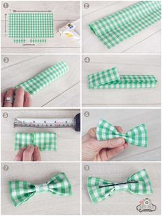 DIY Bow Tie {Party Boy Fashion Idea} - Spaceships and Laser Beams