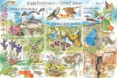 #3579 Czech Republic - Flora and Fauna of the Karlstejn Region M/S (MNH)