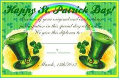 """St. Patrick's Day Diploma"" by carolinarcieri on Polyvore"