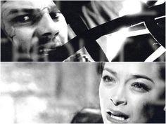 heartbreaking scene when Vincent is dragged away in the net.