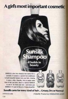 Sunsilk Shampoo | Indian Print Ads - Vintage in 2019
