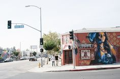 Another mural.   Part of a project to photograph different areas of LA, from ARMphotography. This is in Highland Park CA.