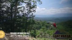 Adventure Attractions Presents Legacy Mountain Zip Lines - I read this is one of the best zipline places because it has the longest ziplines (while other places are smaller, but closer to downtown).
