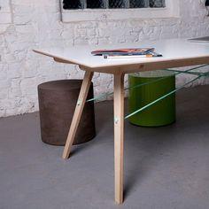 150cm Table - White by Stückwerk | MONOQI