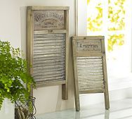 vintage washboards, #countryliving, #dreambedroom