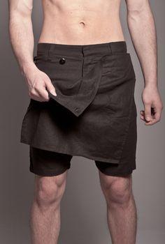 Skingraft Skirt Short