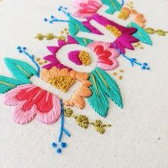 Embroidery Patterns Australian Wildflowers those Embroidery Designs Images For Blouse Modern Embroidery, Hand Embroidery Patterns, Diy Embroidery, Cross Stitch Embroidery, Embroidery Letters, Vintage Embroidery, Contemporary Embroidery, Embroidery Hoops, Patchwork Patterns