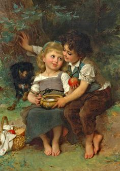 The Athenaeum - The Bowl of Milk (Emile Munier)