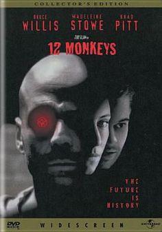 "New to the Library! October 2016 ""Twelve Monkeys"" [DVD videorecording]"