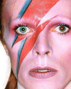 David Bowie Ziggy Stardust. Halloween inspiration