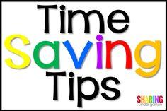 Time Saving Tips