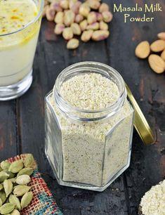 Masala Milk Powder Masala Milk Recipe, Milk Powder Recipe, Masala Powder Recipe, Curry Recipes, Tea Recipes, Indian Food Recipes, Cooking Recipes, Holi Recipes, Recipies