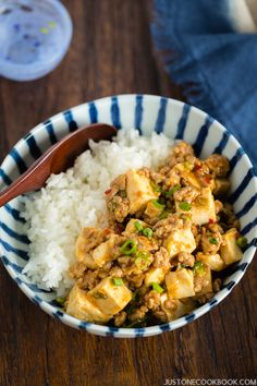 Mapo Tofu (Mabo Dofu 麻婆豆腐) | Easy Japanese Recipes at JustOneCookbook.com