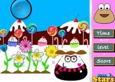 PouJuegos.com - Juego: Pou Hidden Stars - Jugar Juegos Gratis Online Flash