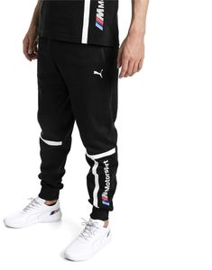 Classic sweatpants featuring BMW MMS branding and relaxed comfort for an everyday fit. Indie Outfits, Sporty Outfits, Dope Outfits, Puma Pants, Hype Clothing, Joggers Outfit, Track Suit Men, Mens Sweatpants, Bmw