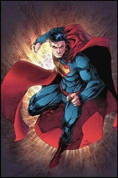 "league-of-extraordinarycomics: ""Superman by Brett Booth """