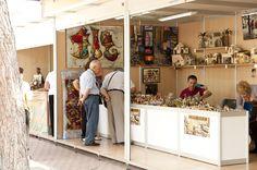 La feria de artesanía regional en Cartagena