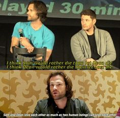 Just one of the many things that make SPN so amazing and special