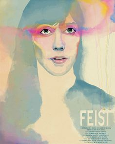 Feist 'Metals' Tour Poster