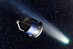 Giotto spacecraft - List of Solar System probes - Wikipedia, the free encyclopedia Halley's Comet, Space Probe, Robot Technology, Astronauts In Space, Star Of Bethlehem, Exploration, Galaxy Space, Space Program, Historia