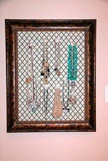 pegboard jewelry hanger