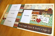 Like our style? We have dozens of kits available at our new website...  scrapbookgeneration.com.                TERMS OF USE:   • Sketche...