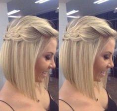 Wedding Hairstyles Medium Length Straight Hair