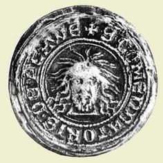 Siegel des Komturs von Plauen.