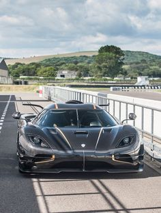 The Koenigsegg CCX and Trivata are one of the fastest supercars in the world. With as much power as a Bugatti Veyron and at half the weight. Car Racer, Koenigsegg, Expensive Cars, Car Wallpapers, Car Manufacturers, Amazing Cars, Hot Cars, Exotic Cars, Concept Cars