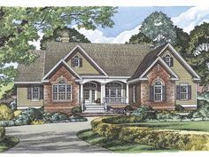 Eplans Ranch House Plan - The East Haven - 2689 Square Feet and 4 Bedrooms from Eplans - House Plan Code HWEPL14928