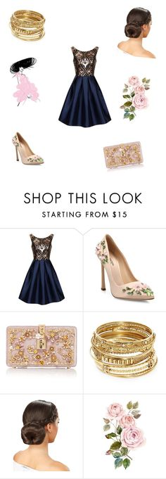 """""""Get the Look: Met Gala 2016"""" by irene9914 ❤ liked on Polyvore featuring Chi Chi, Giambattista Valli, Dolce&Gabbana, ABS by Allen Schwartz, GetTheLook and MetGala"""