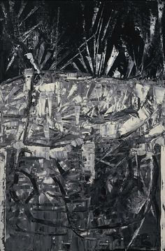 Riopelle, Jean-Paul--Untitled, oil on canvas, Oil Painting Techniques, Mosaic Patterns, Abstract Paintings, American Artists, Abstract Expressionism, Painters, Painting & Drawing, Surrealism, Oil On Canvas